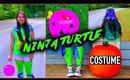 DIY halloween costume: Teenage Ninja Turtle