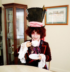 Mad Hatter's makeup_full face