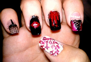"""rocky horror picture show (the thumb nail says """"dont dream it be it"""")"""