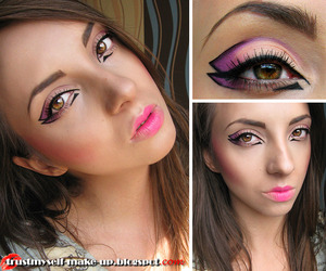 More pictures and products list here: http://trustmyself-make-up.blogspot.com/2012/08/facechart-make-up-look-part-2.html