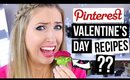 PINTEREST RECIPES TESTED #2 || 3 Easy Valentine's Day Recipes