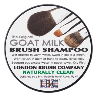 London Brush Company Pure Goat Milk Solid Brush Shampoo