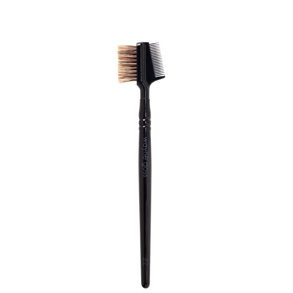 Wayne Goss Brush 22 Dual Ended Brow Brush product swatch.