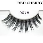 Red Cherry False Eyelashes #106
