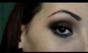Easy Brown Smokey Eye Tutorial- Coastal Scents 28 Neutral Palette