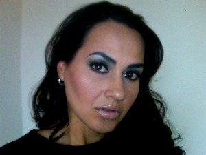 FOTD (Face of the day) using mally beauty cosmetics.