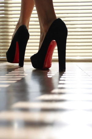 In My Red Soles...