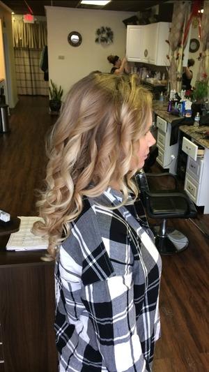 Beautiful Bayalage by Christy Farabaugh at Gallery Hair Studio