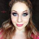 Princess Pink Glittery Smokey Eye