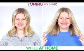Toning My Hair At Home 💁🏼♀️