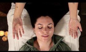ASMR Whisper Facial for Deep Sleep and Relaxation