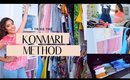 Declutter and Organize My Closet With Me the KonMari Way!