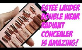 HOLY GRAIL! ESTEE LAUDER DOUBLE WEAR RADIANT CONCEALER!