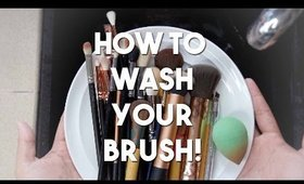 How To Deep Clean Your Brushes! | 3 Methods