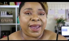 All drug store makeup look| Featuring LA girl Haute heat palette