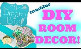 DIY ROOM DECOR! TUMBLR INSPIRED