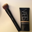 NARS Pure Radiant Tinted Moisturizer & Sephora Mineral Brush!