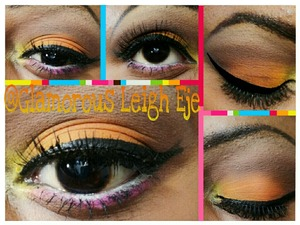 """This tutorial is on my YouTube channel @glamorousleigheje named """"spring makeup"""" so check it out & subscribe!"""