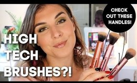 Real Techniques NEW Custom Brushes Review | Bailey B.