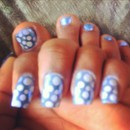 My nails BLUE my mind :)