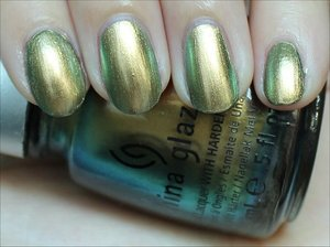 See more swatches & my review here: http://www.swatchandlearn.com/china-glaze-rare-radiant-swatches-review/