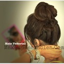 Hair Tutorial | Braided Messy Bun & Ponytail | Back-to-School Hairstyles Updos