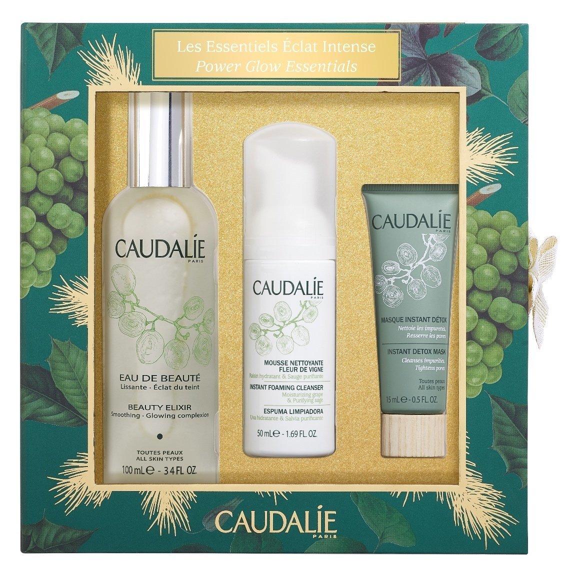 Caudalie Beauty Elixir Power Glow Essentials Set product swatch.