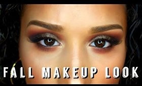 FALL MAKEUP LOOK | URBAN DECAY MOON DUST PALETTE | VICKIE ELYSIA