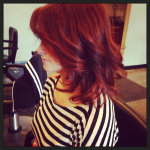 Red hair from Goldwell