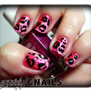 Pink Leopard Kisses