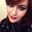 Bold makeup ^.^