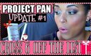 CROSS OFF 6 THE CHRISTMAS LIST Update #1 | PROJECT PAN 2016 || MelissaQ