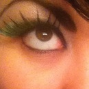 Green Lashes