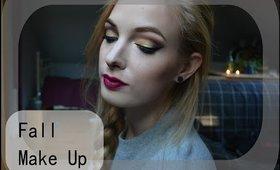 Jesienny Makijaż || Złoto+Mocne Usta