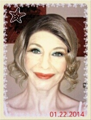make up..made on modiface  app on me