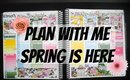 Plan With Me: Spring Is Here (FT Scribble Prints Co)