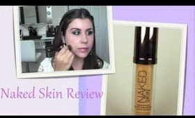 ★ Review Urban Decay Naked Foundation ★