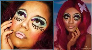 ILLAMASQUA TOXIC NATURE COLLECTION INSPIRED LOOK