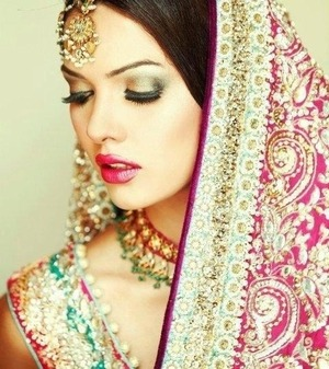 Indian Bridal Makeup :D