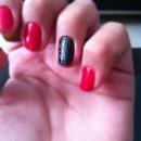 Red & Black Leopard