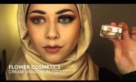 Desert Drams (Arabic inspired Makeup) Ft. Morphe 35O palette| Lujainsbeauty101