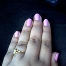 Rose gold nails <3