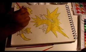 Yellow Pokemon   Art W Spokhette 1
