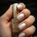 White & Glittery