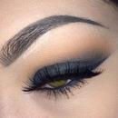 Black smokey eye 💗