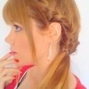 ☆ French braid & side ponytail ☆