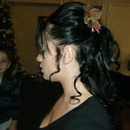 Christmas up-do