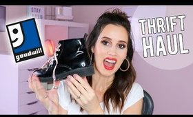 THRIFT HAUL! - Clothing, Home decor, Books, Kids Clothes
