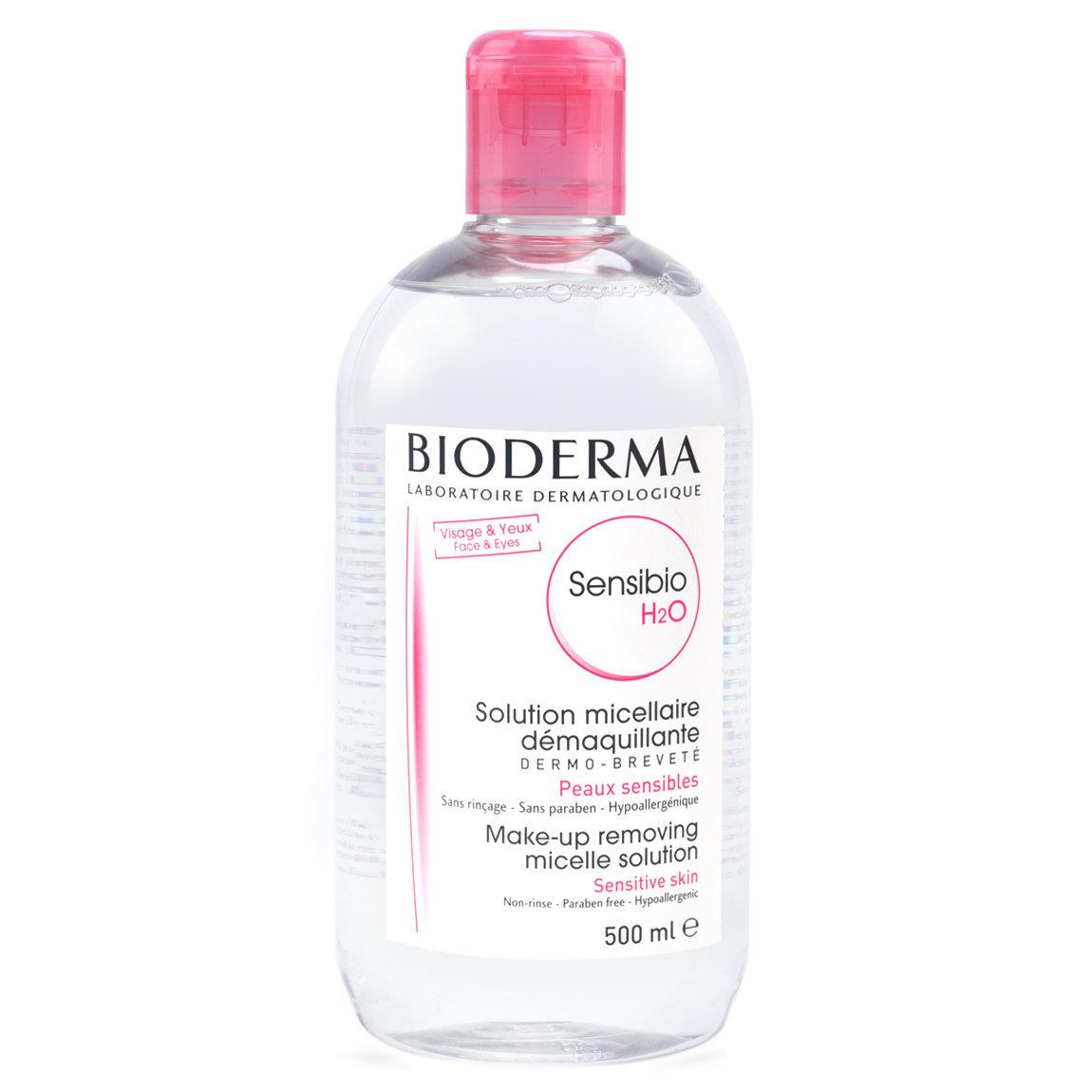 Bioderma Sensibio H2O 500 ml product swatch.