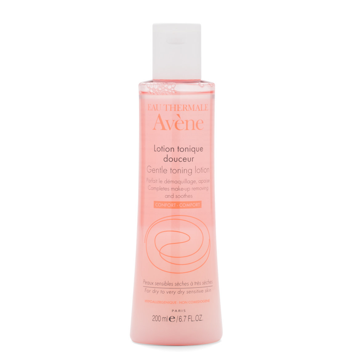 Eau Thermale Avène Gentle Toning Lotion 200 ml product swatch.